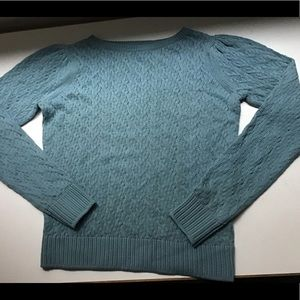 Margaret O'Leary XS Puff Sleeve Pullover